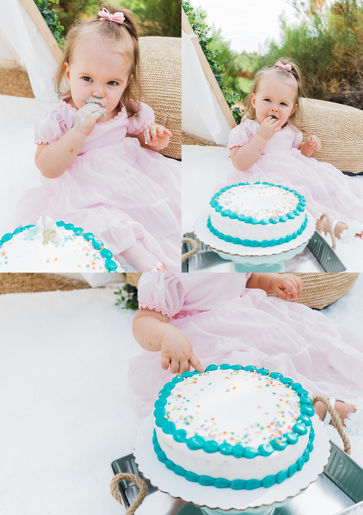 Cake Smash Mini Sessions | August | East Valley Phototographer
