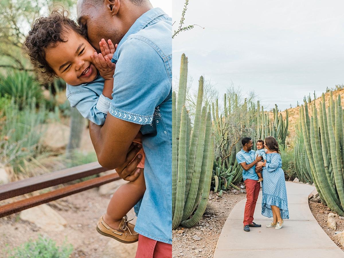 Desert Botanical Garden Family Pictures | Phoenix Family Photographer
