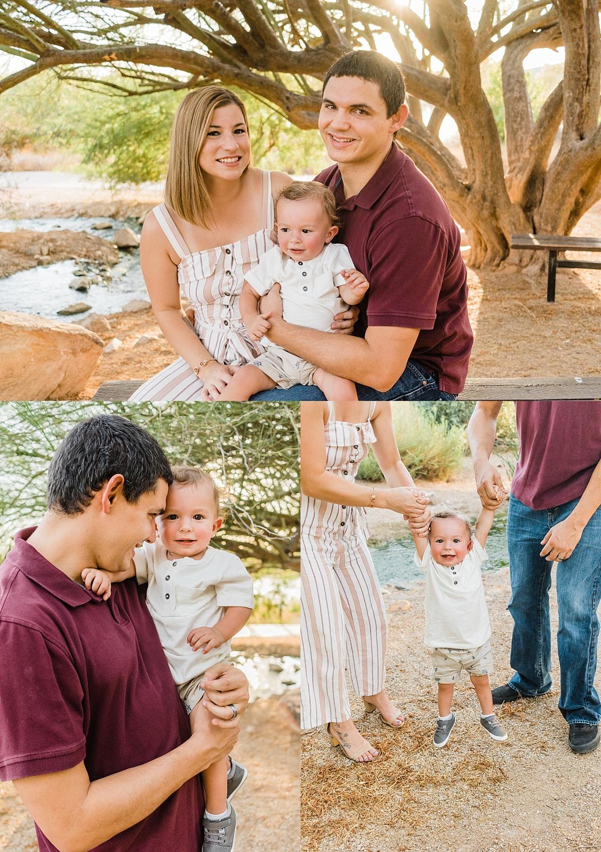 Riparian Preserve Family Photos | East Valley Photographer