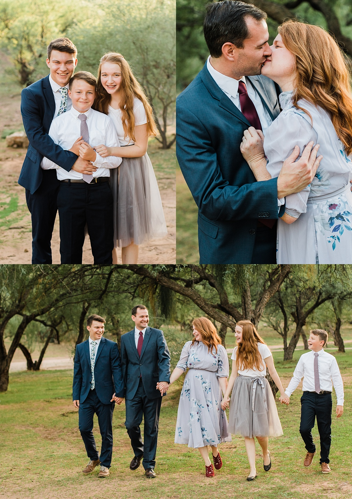 Coon Bluff Campground Family Pictures | Mesa Family Photographer
