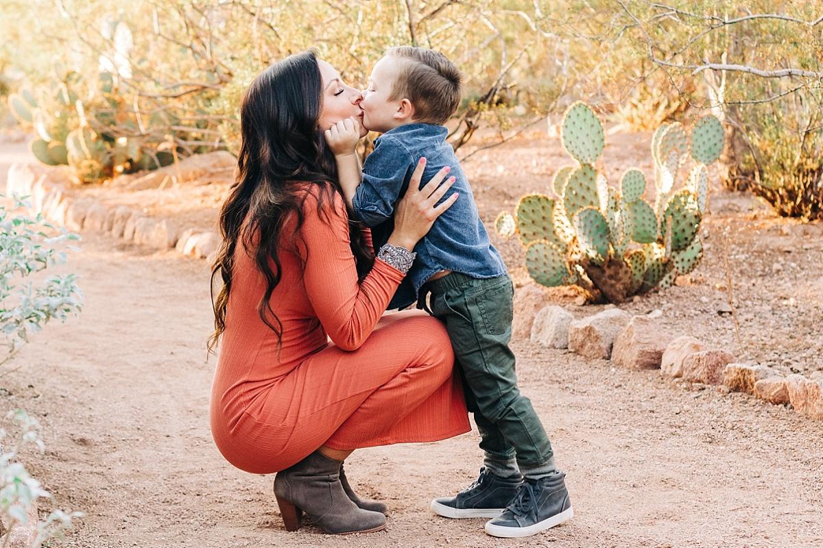 Desert Botanical Garden Family Photos | Free Admission | Phoenix Family Photographer