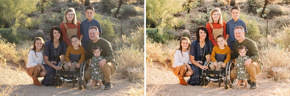 Maren Elizabeth Photography Before & Afters