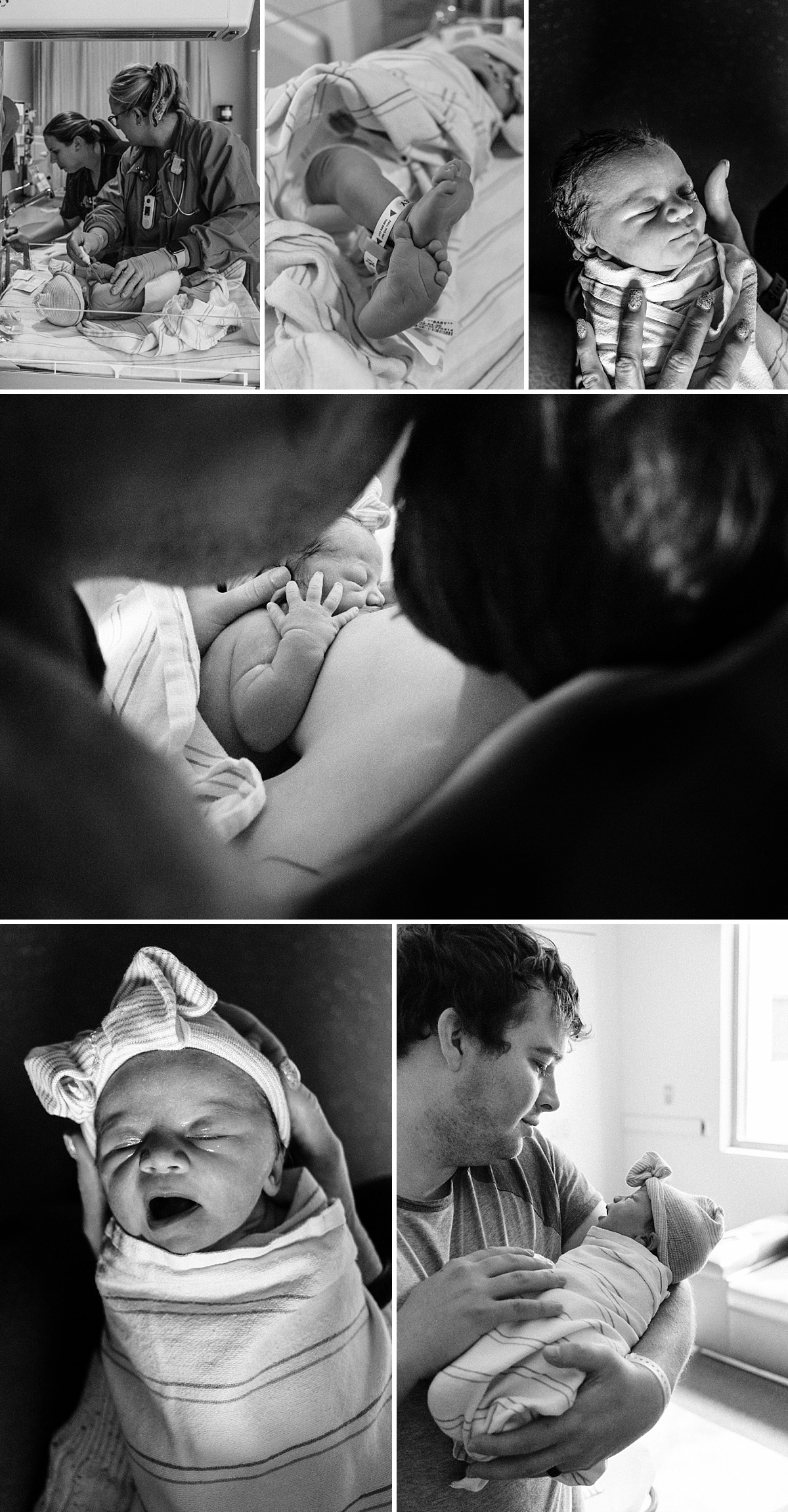 What to Expect when Delivering at Banner Gateway   Baby H Birth Story   East Valley Birth Photographer