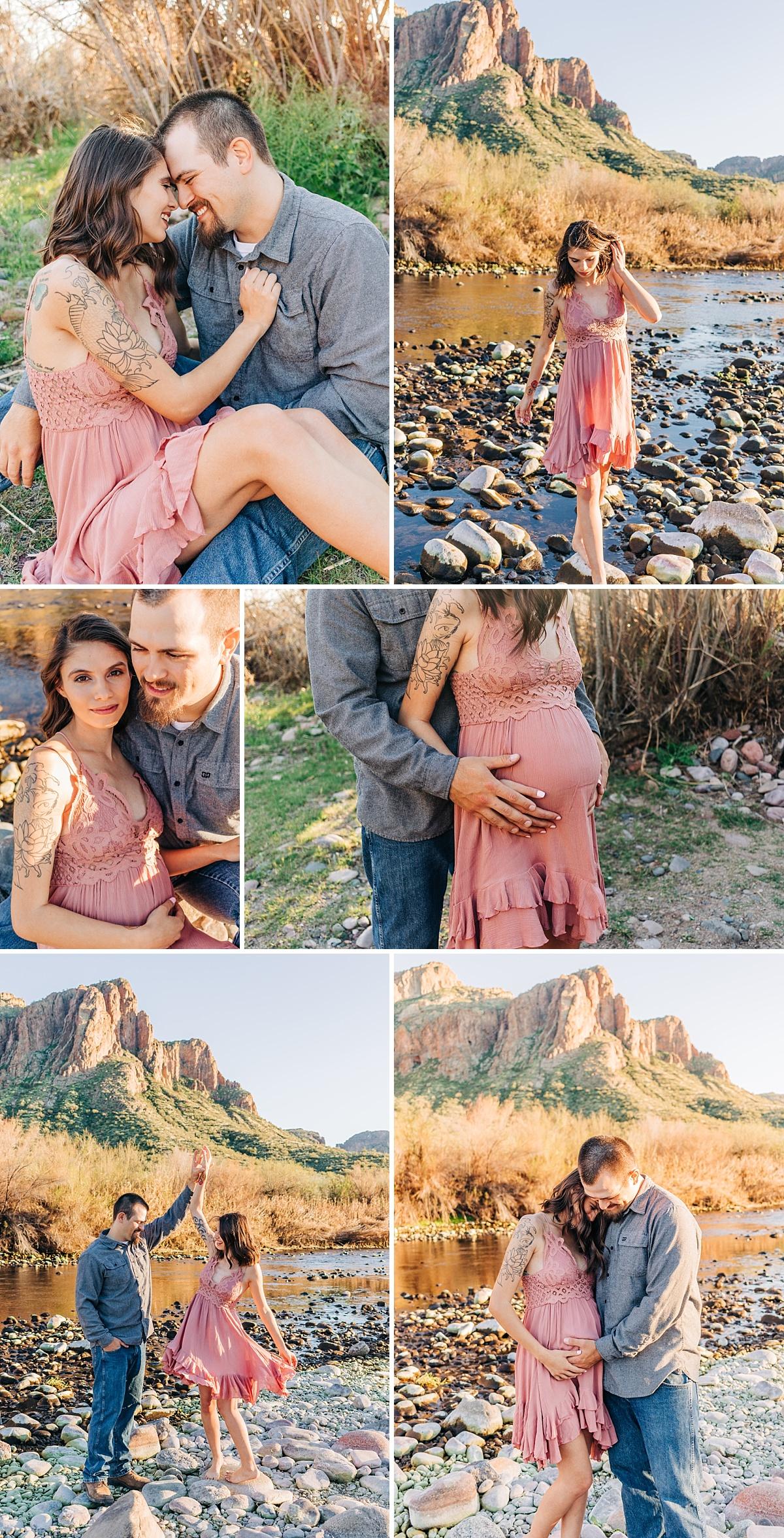 Mesa Maternity Photographer | Tonto National Park