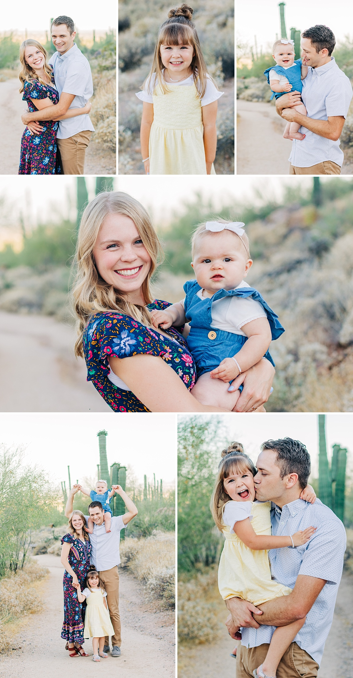 Usery Mountain Regional Park Family Pictures | East Valley Photographer