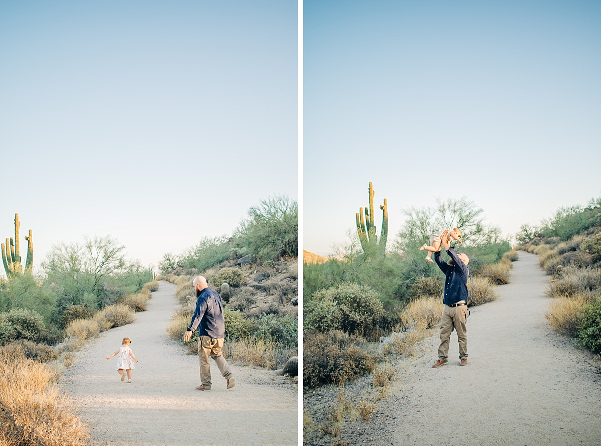 Arizona Desert Family Pictures | Usery Mountain Regional Park