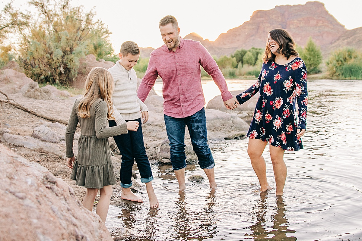 Tonto National Forest Family Pictures