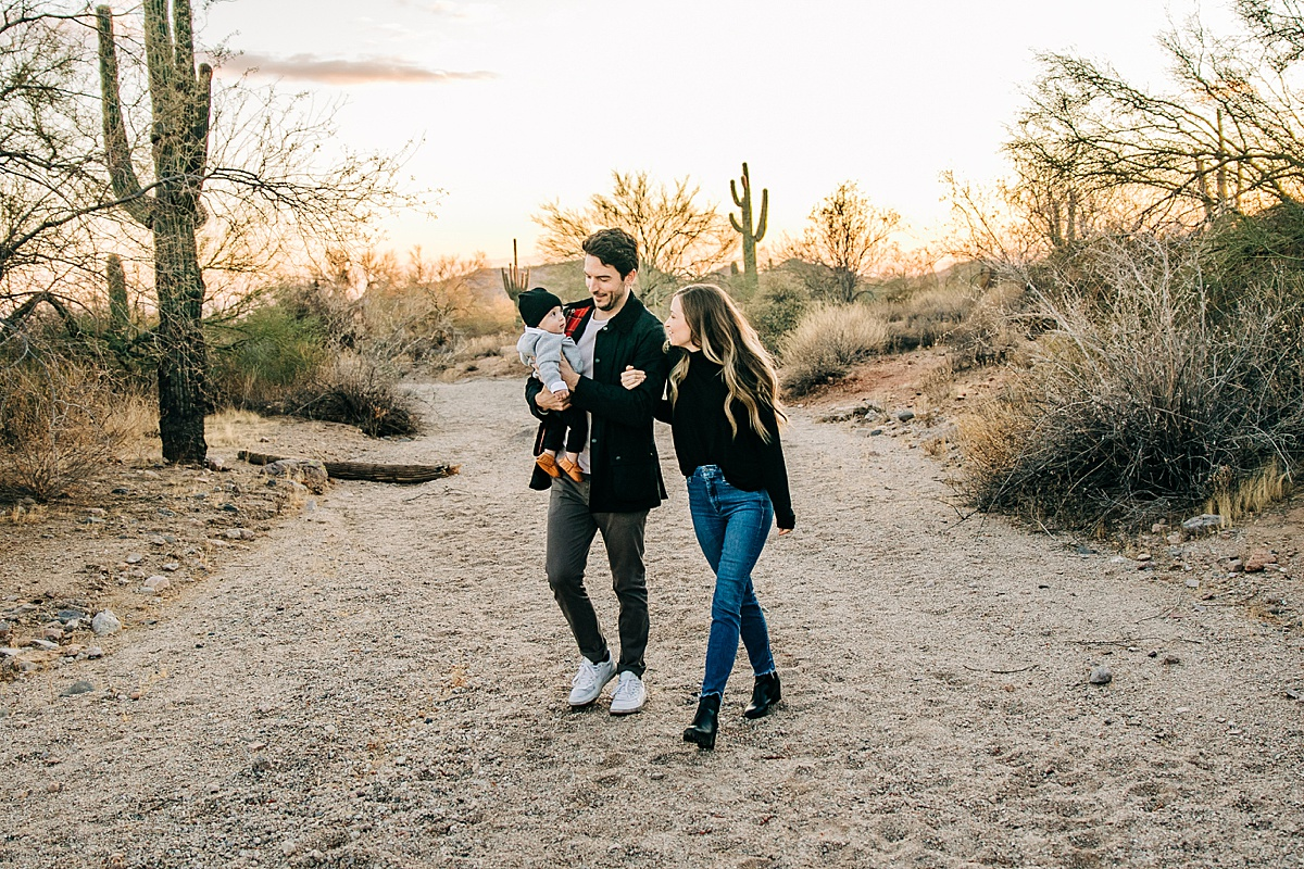 Usery Mountain Regional Park Family Photographer