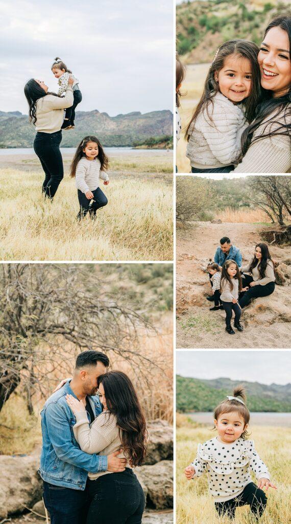 Saguaro Lake Family Pictures