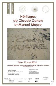 Affiche_Heritages_de_Claude_Cahun_et_Marcel_Moore