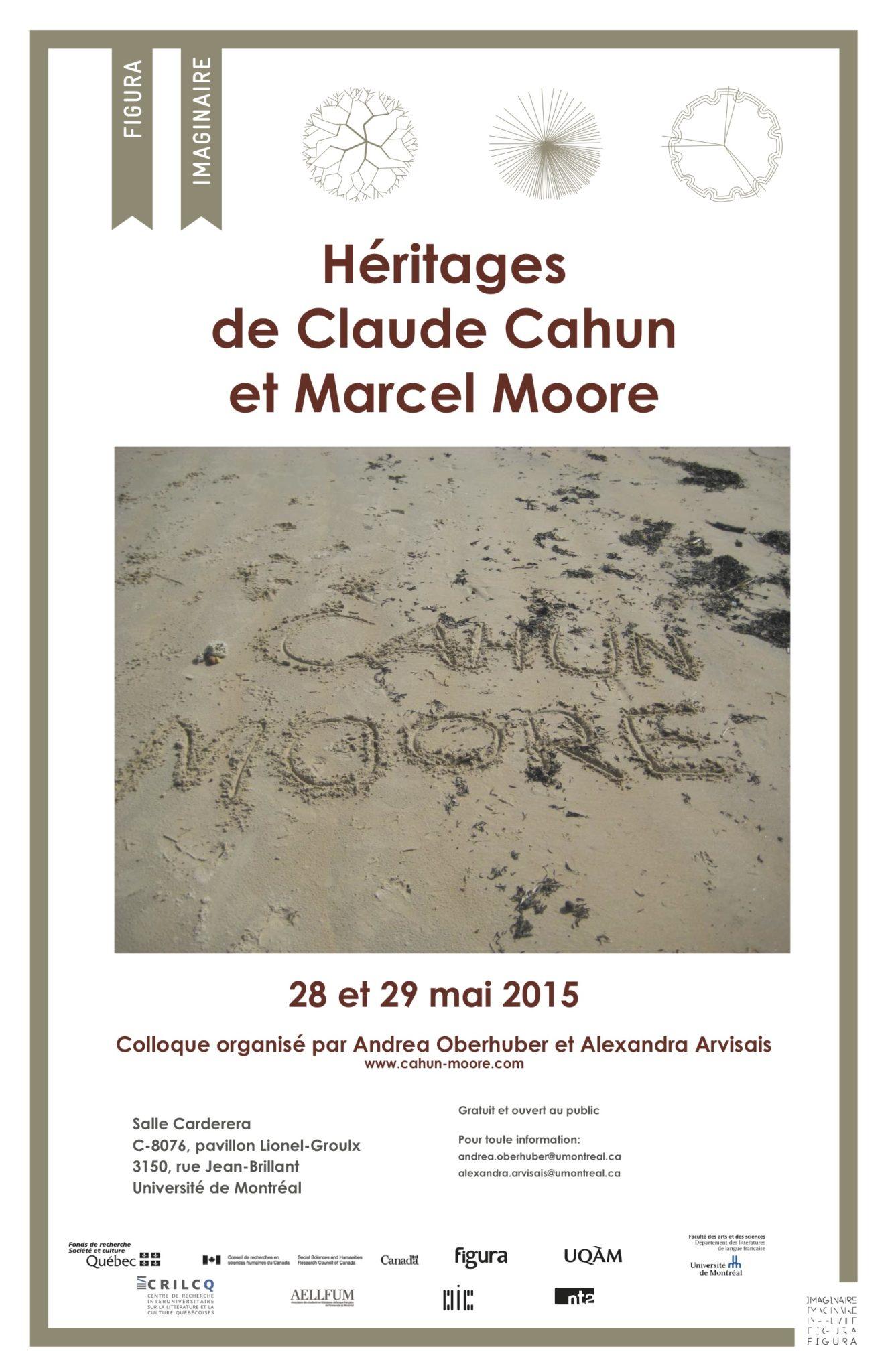 Colloque 2015: <br />Héritages de Claude Cahun et Marcel Moore