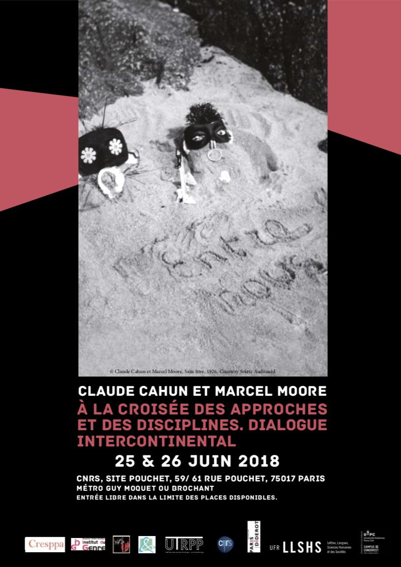 Colloque 2018: <br />ClaudeCahun etMarcel Moore — à la croisée des approches et des disciplines. Dialogue intercontinental