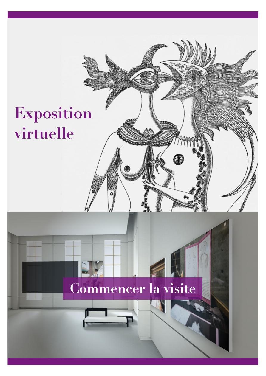 Exposition virtuelle 2018: <br />Le Livre surréaliste au féminin, déambulation libre