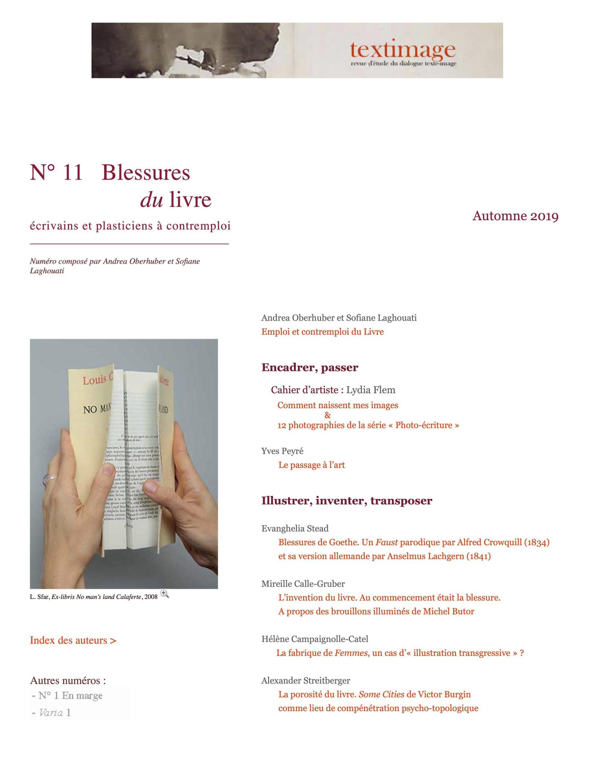 Publication 2019:<br />Emploi etcontremploi duLivre