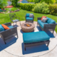 Gas Fire Pit Outdoors