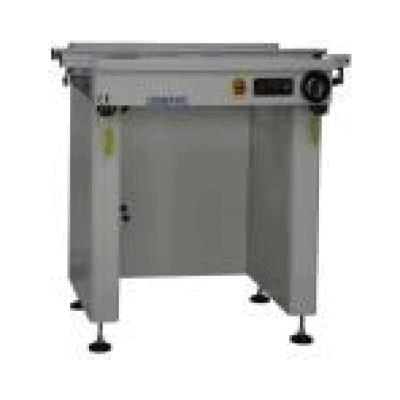 1 Meter Inspection Conveyor - 2 Belts - smtindustrial.com