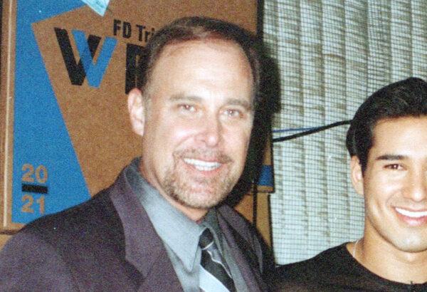 Tom Silver and actor Mario Lopez