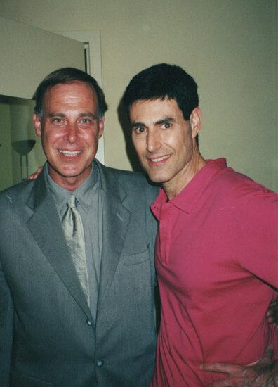 Tom and Mentalist Uri Geller