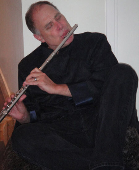 tom silver playing flute