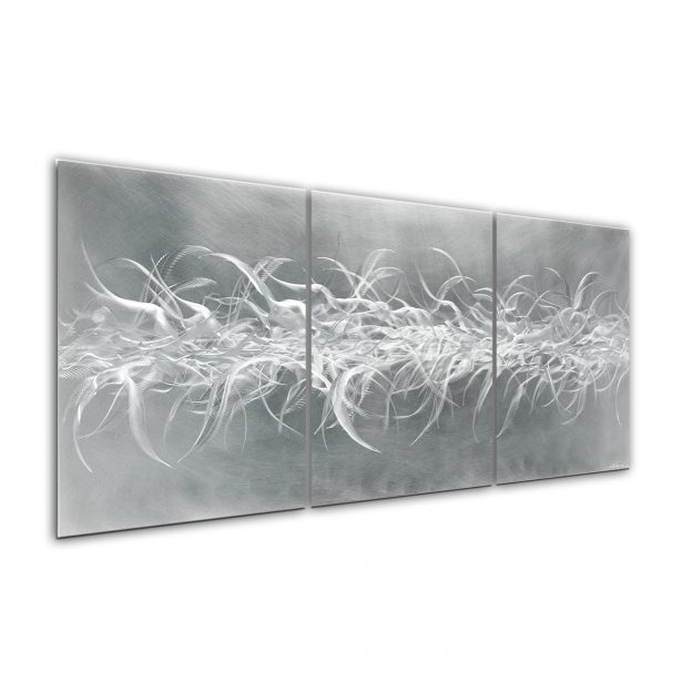 Electric Fields v2 - our artisan Fine Metal Art