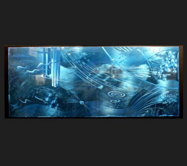 Oceanus - our artisan Fine Metal Art