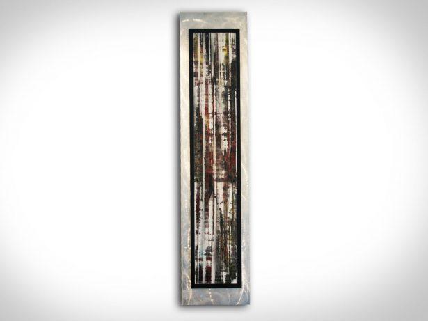 Abstract Birch - our artisan Fine Metal Art