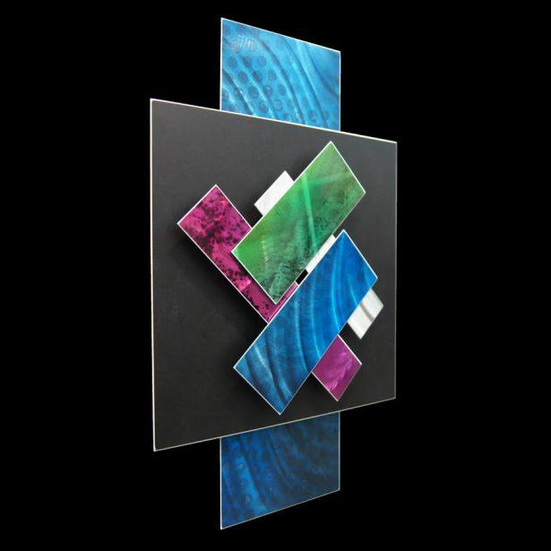 Ice Spectrum 4 - our artisan Fine Metal Art