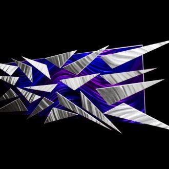 Ice Storm - our artisan Fine Metal Art
