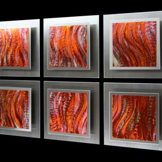 Intrinsic Brightness - our artisan Fine Metal Art