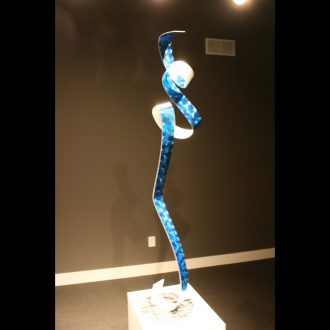La Blue Ballet - our artisan Fine Metal Art
