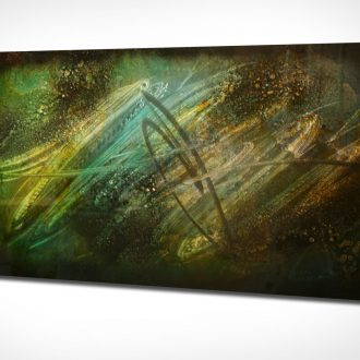 Lost in Space - our artisan Fine Metal Art