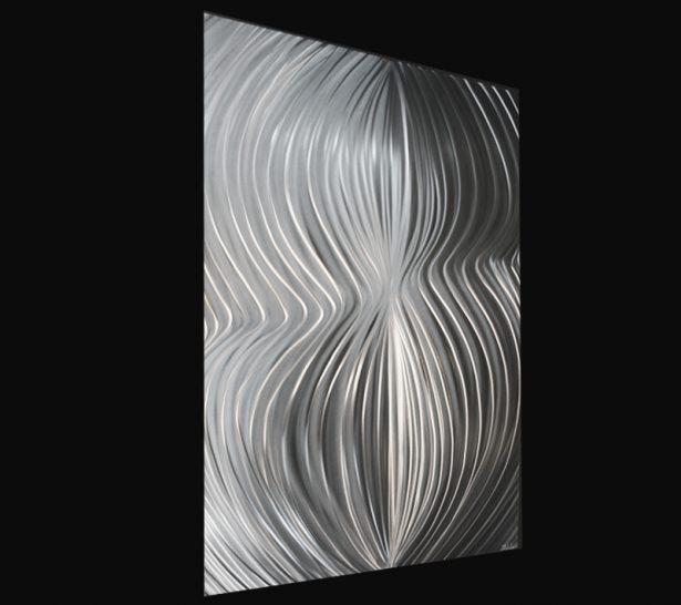 Polar Attraction Single - our artisan Fine Metal Art