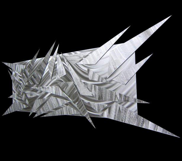 Shifting Ice - our artisan Fine Metal Art