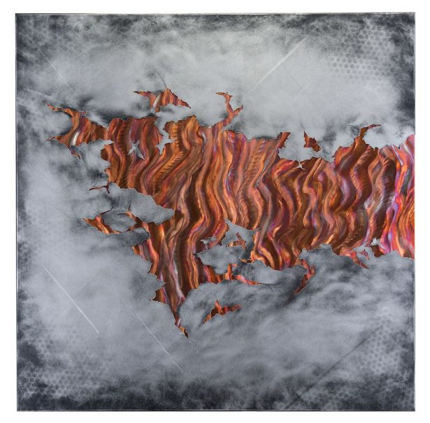 The Fire Within v2 - our artisan Fine Metal Art