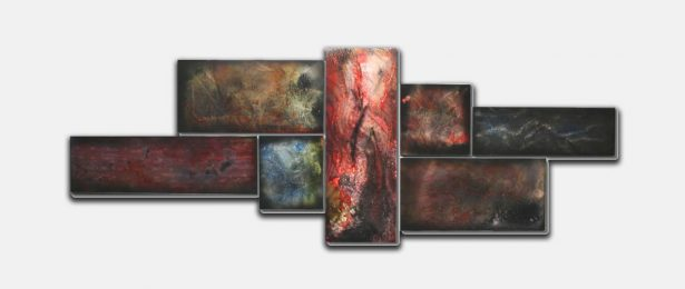 Spectral Corrosion - our artisan Fine Metal Art