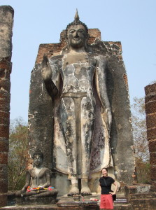 What did this statue once look like?