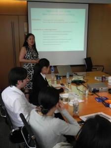 Me teaching a class in Shanghai
