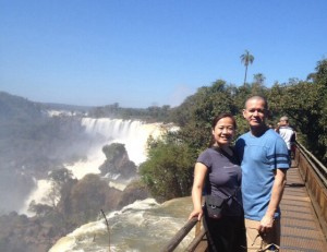 We saw some gorgeous series of water falls at Iguazu Park in northern Argentinia