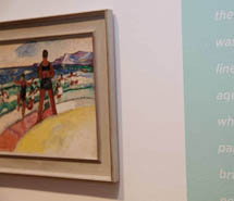 Beach poem with Grace Cossington Smith, Sea at Thirroul