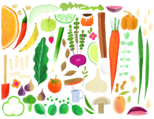 Food illustration by Salli Swindell.