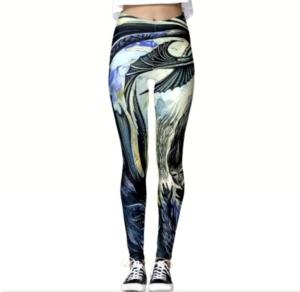 Cathie Bleck's leggings.