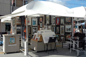 Mike Guyot artwork exhibit at the Lakewood Arts Festival