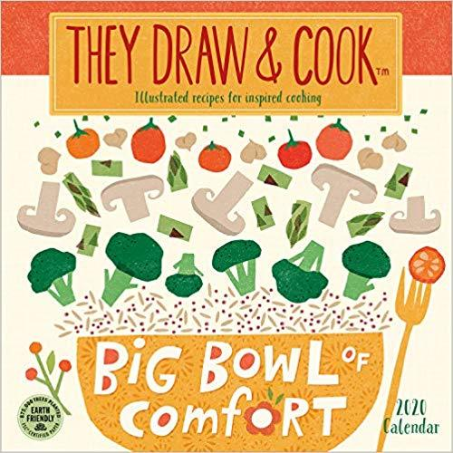 They Draw and Cook Calendar