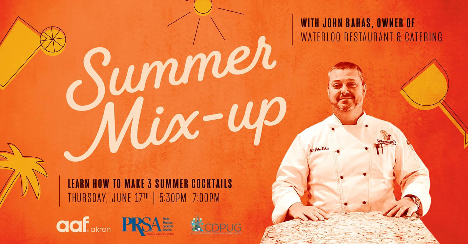 Summer Mix-Up with owner John Bahas, Waterloo Restaurant & Catering