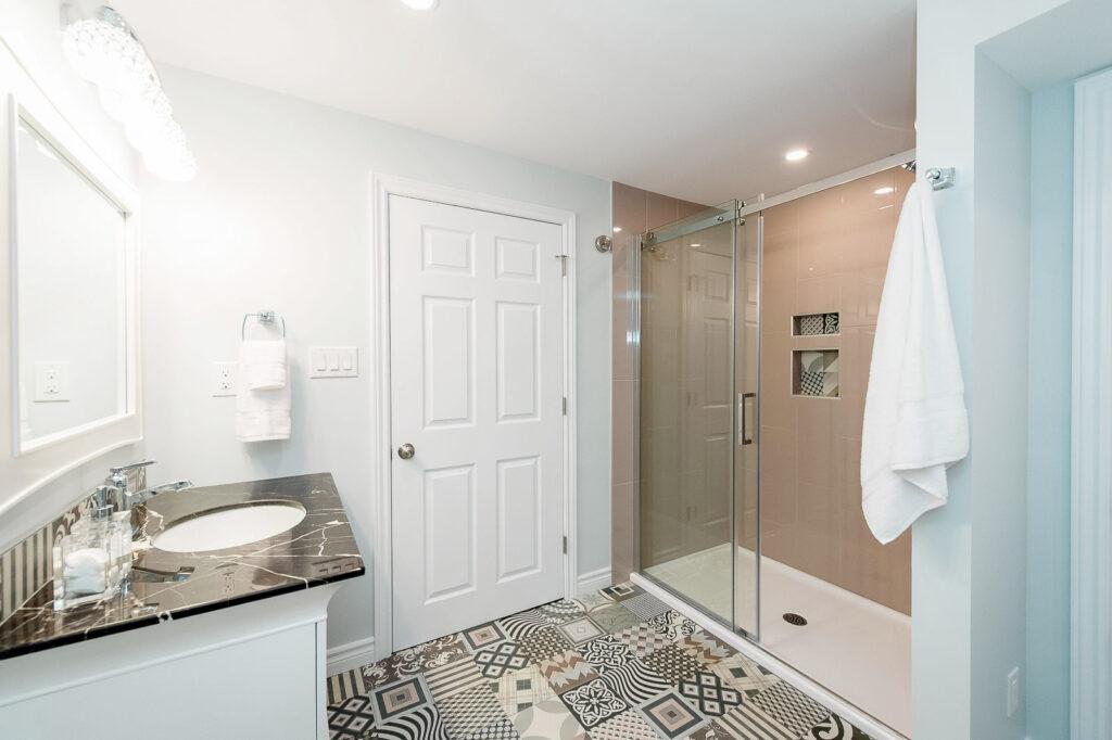 accessible bathroom - seniors bathroom in Ottawa