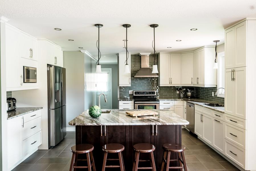 open concept kitchen design Ottawa
