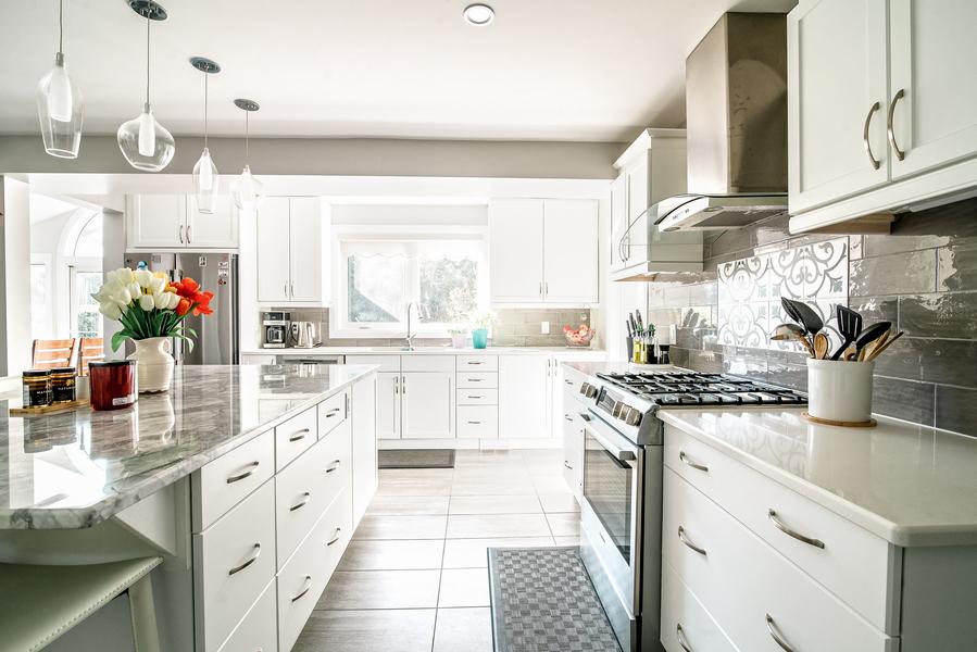 Open kitchen concept in Ottawa