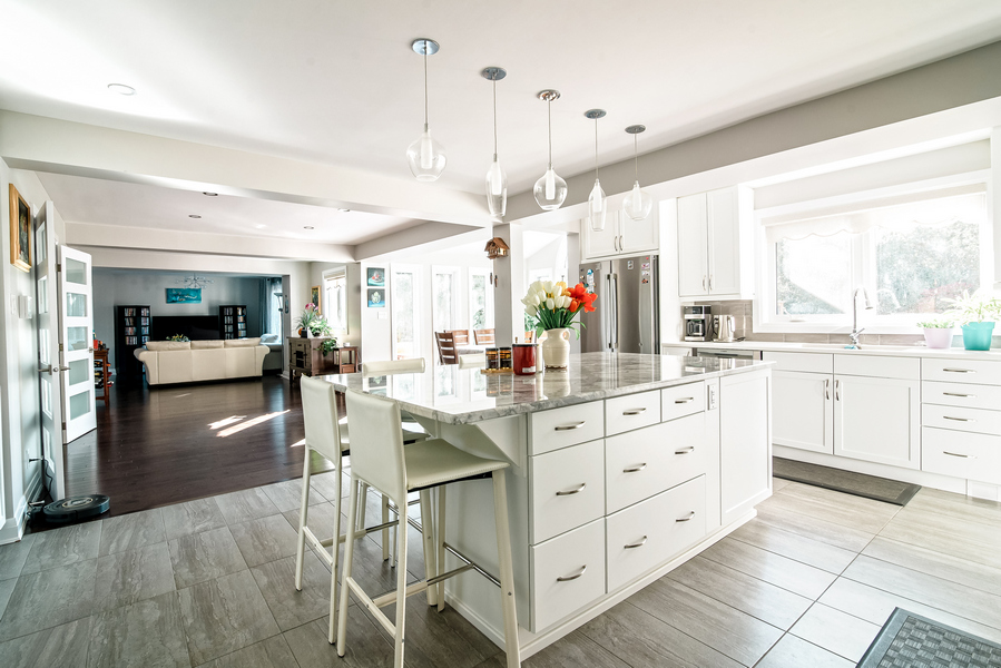 open concept kitchen in Ottawa