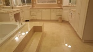 Polished Natural Stone Bathroom