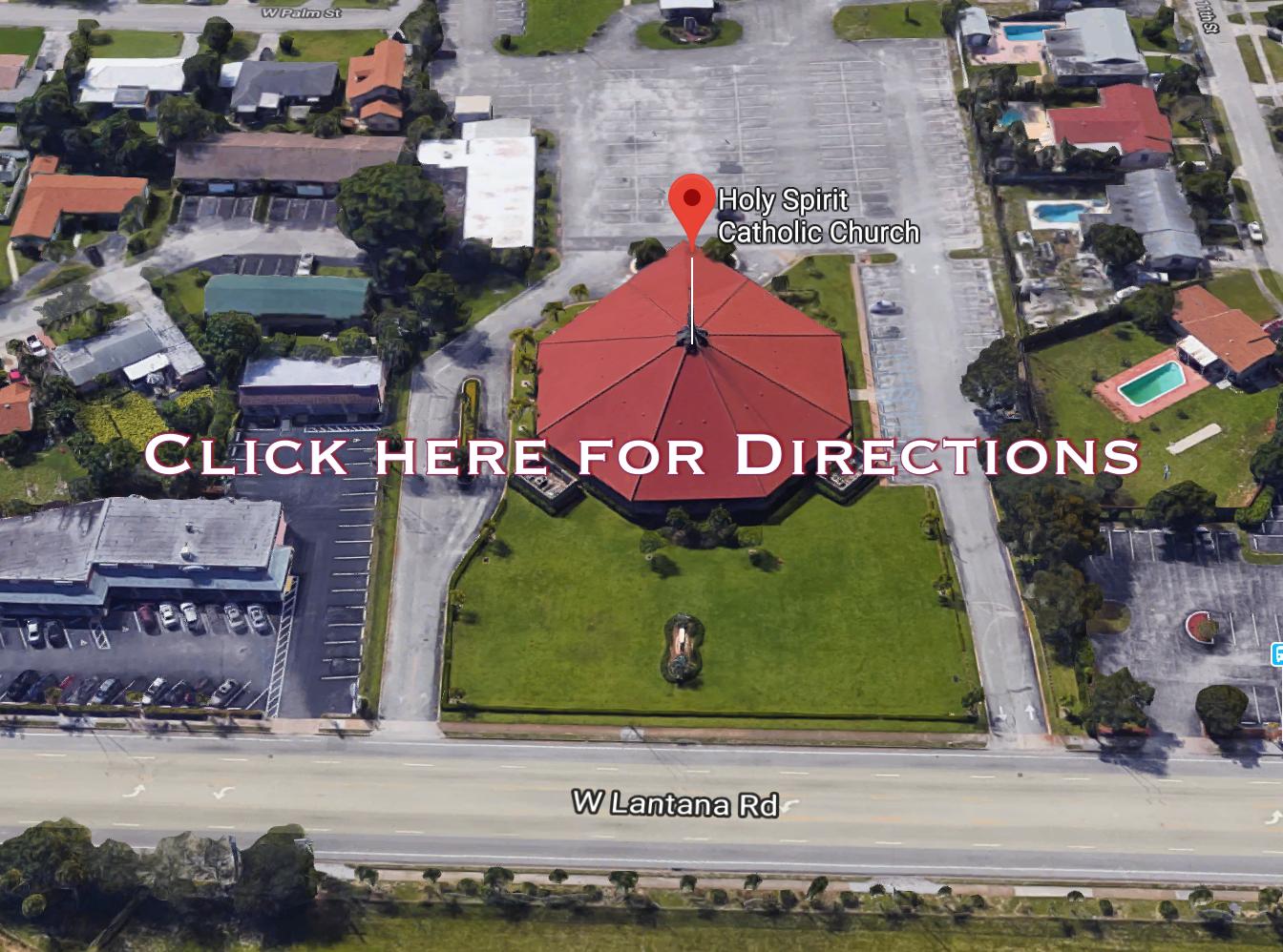 Holy Spirit Catholic Church 1000 Lantana Rd. Lantana, FL 33462